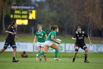 Sene Naoupu with the ball