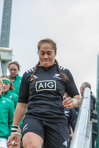 Fiao'o Fa'amausili leads her team out