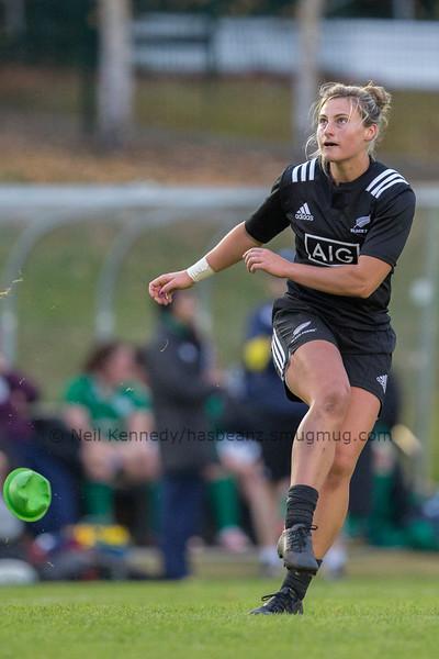 Hazel Tubic converts Kelly Brazier's try