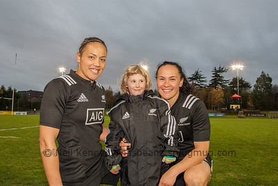 Ireland Women v New Zealand Black Ferns, Autumn International, University College Dublin Bowl, 27th November 2016