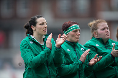 Wales v Ireland, Women's 6 Nations Rnd 4, 11th March 2017, Cardiff Arms Park, Cardiff, Wales