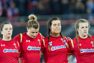 Sioned Harries, Rachel Taylor, Shona Powell Hughes, Carys Phillips