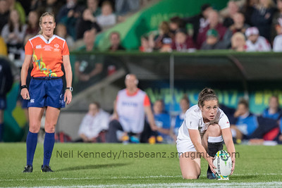 England v New Zealand, Final, WRWC 2017 Finals Day, 26th August 2017, Kingspan Stadium, Belfast, Ireland