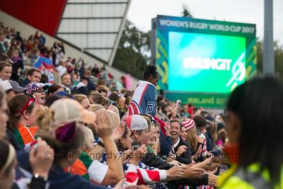 USA v France WRWC 2017 Finals Day, 26th August 2017, Kingspan Stadium, Belfast, Ireland