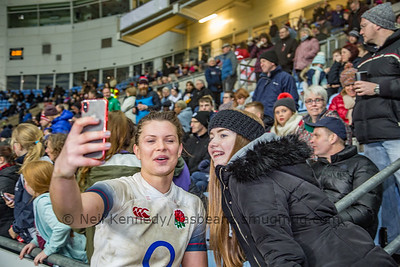 England v Ireland, Women's Six Nations, Ricoh Arena, 16th March 2018