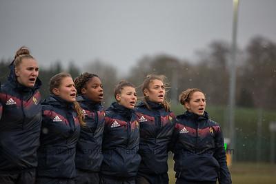 England v France, Women u20, Basingstoke RFC, 17th March 2018