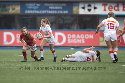 Wales v Canada Women, 24th November 2018, Arms Park, Cardiff, Wales