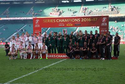 Gold Silver Bronze World Series 2017, South Africa, England, Fiji