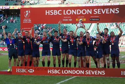 Scotland win London 7s for second successive time