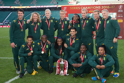 The Blitzbokkes - Series winners in 2017.