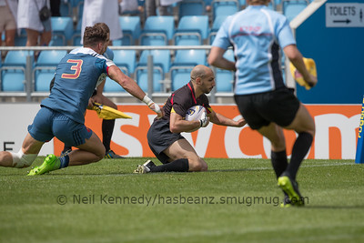 France 24 vs 5 Belgium, Match 2, Pool A, 15 Jul 2017 11:52 Rugby Europe Mens Grand Prix 7s - Round 4 of 4, Sandy Park, Exeter, England