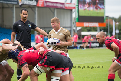 Wales 14 vs 7 Georgia, Match 4, Pool B, 15 Jul 2017 12:36 Rugby Europe Mens Grand Prix 7s - Round 4 of 4, Sandy Park, Exeter, England