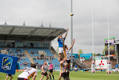 Germany 17 vs 12 Italy, Match 5, Pool C, 15 Jul 2017 12:58 Rugby Europe Mens Grand Prix 7s - Round 4 of 4, Sandy Park, Exeter, England
