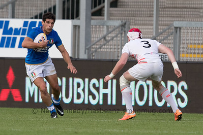 Italy 5 vs 19 England, Match 18, Pool C, 15 Jul 2017 18:50 Rugby Europe Mens Grand Prix 7s - Round 4 of 4, Sandy Park, Exeter, England