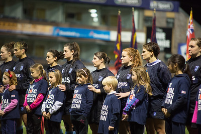 141108 Cardiff Blues Ladies v Armed Forces Ladies - Remembrance
