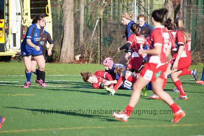 141228 Welsh Regionals 2 Scarlets Ladies vs Dragons Ladies