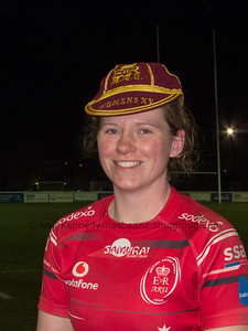 Katie Hancock wins her first cap for the Army