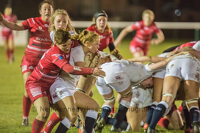 Tackle by Gemma Stonebridge-Smith on Catherine O'Donnell