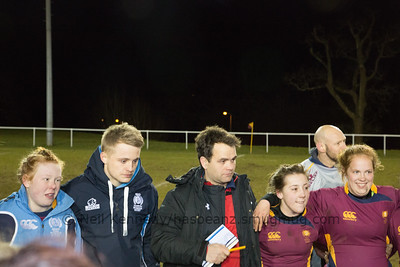 Post match debrief for Cardiff Met with Rhys Edwards