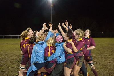 Cardiff Met celebrate making the BUCS finals