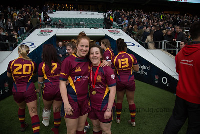 Bronnie Jones and Jess Pritchard, happy end to the cup final