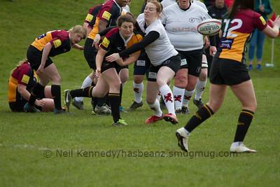 160423 RFU Junior Plate: Rugby Lionesses v Windsor