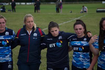 Scotland post match debrief