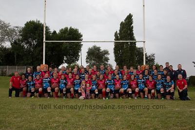 Scotland Women and Lichfield Ladies post match picture