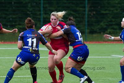 Scarlets vs Dragons, Welsh Regional XVs Rnd 1, Ystrad Mynach, 4th Sept 2016