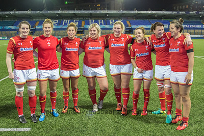 Scarlets contingent for Wales