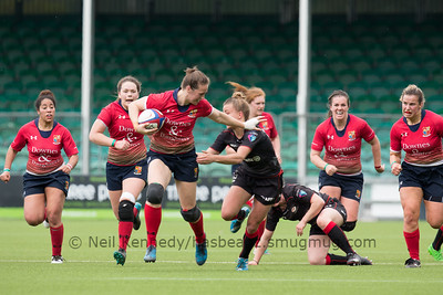 Women Premiership 3rd place playoff - Sixways, Worcester 23rd April 2017