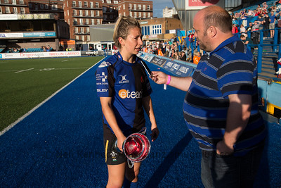 Elinor Snowsill interviewed after the final