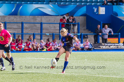 Elinor Snowsill kicking