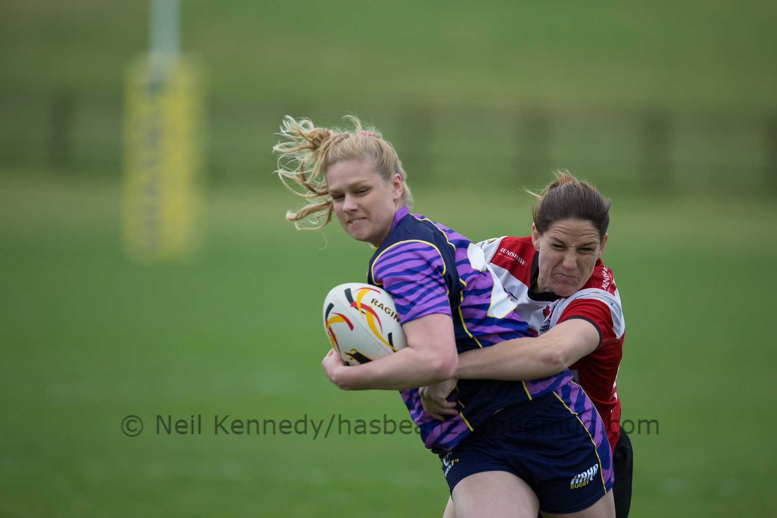 Gemma Sharples tackles