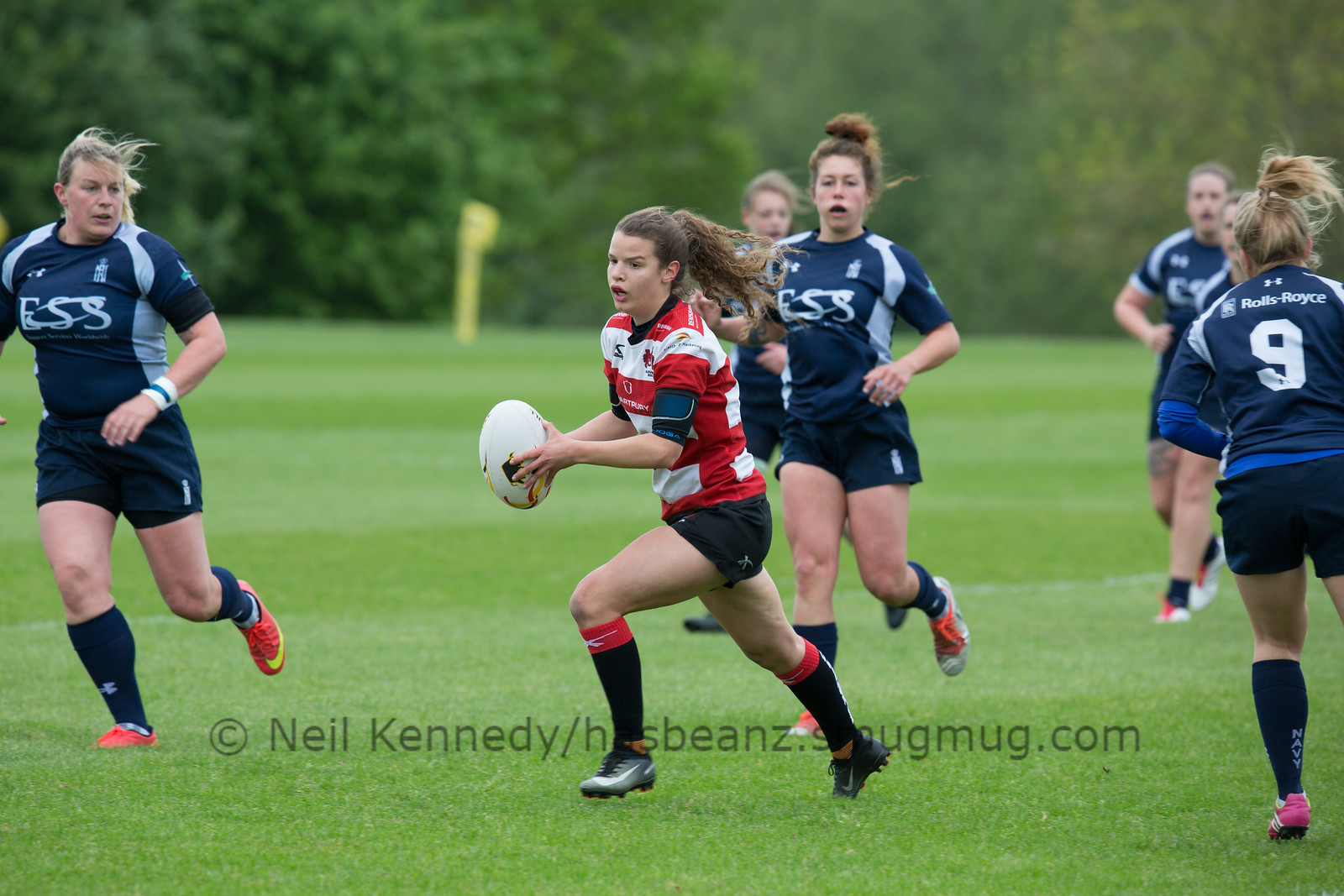 Gloucester-H. 53-0 Navy Ladies, Hartpury 7s, Hartpury, 13th May 2017