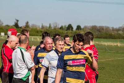 Worcester Wnderers 2nd v Walsall, WRFC, Worcester 8th April 2017