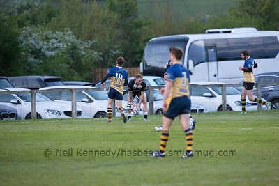 Worcester Wanderers v Royal Artillery, 5th May 2017, Weston Fields, Worcester
