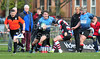 4 April 2015 at Old Anniesland, Glasgow. BT Premiership match, Glasgow Hawks v Stirling County<br /> <br /> photographer - Duncan Gray