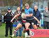 4 April 2015 at Old Anniesland, Glasgow. BT Premiership match, Glasgow Hawks v Stirling County<br /> <br /> photographer - Duncan Gray
