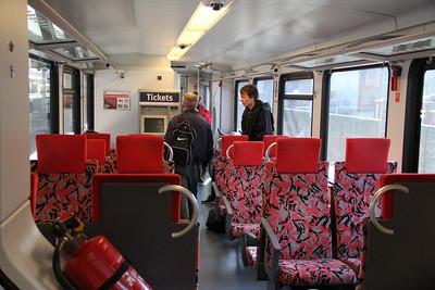Abellio VT11003 Interior Bochum Hauptbahnhof Mar 12