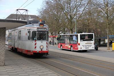 BOGESTRA Bochum_Gelsenkirchen 677 Goldbergstrasse Buer 31 Mar 12
