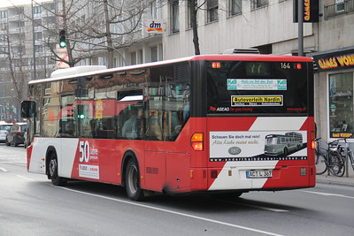 ASEAG Aachen 164 Kapuzinergraben Aachen 2 Mar 12