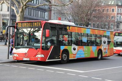 ASEAG Aachen 218 Freidrich Wilhelm Platz Aachen Mar 12