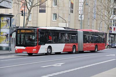ASEAG Aachen 307 Freidrich Wilhelm Platz Aachen Mar 12