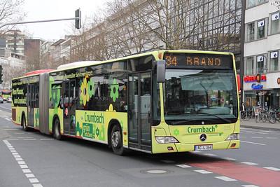 ASEAG Aachen 225 Freidrich Wilhelm Platz Aachen Mar 12