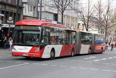 ASEAG Aachen 194 Kapuzinergraben Aachen 1 Mar 12