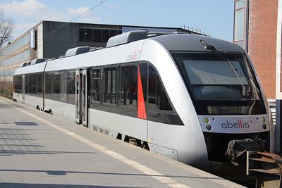Abellio VT11003 Bochum Hauptbahnhof Mar 12
