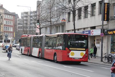 ASEAG Aachen 194 Kapuzinergraben Aachen 2 Mar 12