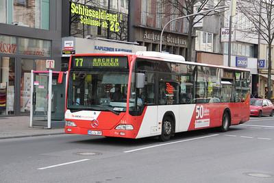 ASEAG Aachen 164 Kapuzinergraben Aachen 1 Mar 12