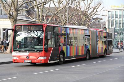 ASEAG Aachen 244 Freidrich Wilhelm Platz Aachen Mar 12